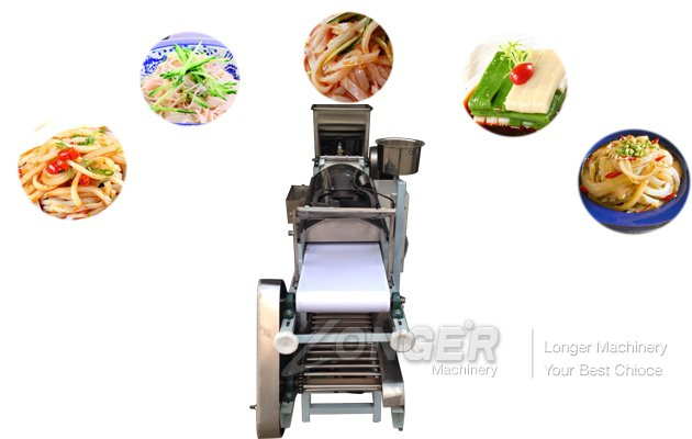 what are the necessary safeguards for the cold rice noodle machine