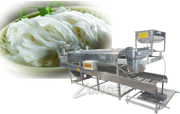 Way to get rich——Automatic rice noodle making machine