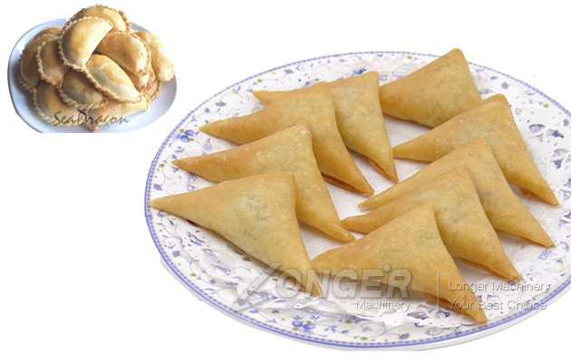 Multifunctional Curry Puffs Making Machine For Sale