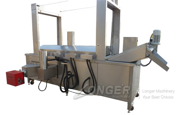 Continuous Green Bean Fryer Machine